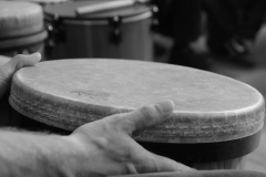 Universal Principles Of Handdrumming - Workshop mit Arthur Hull, Augsburg 09.10.2016 - Foto: Markus Mayr