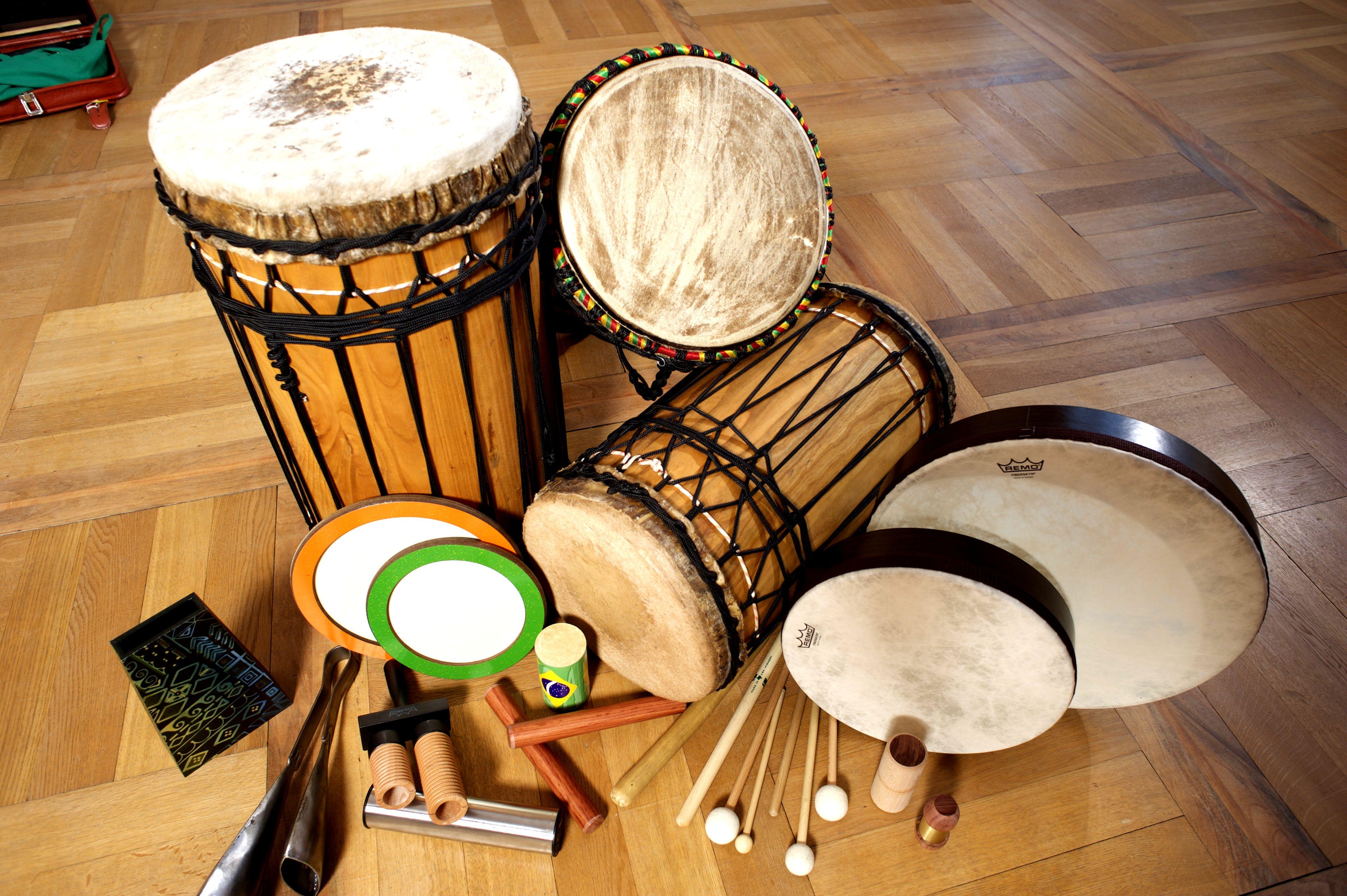 Instrumente für Drum Circle