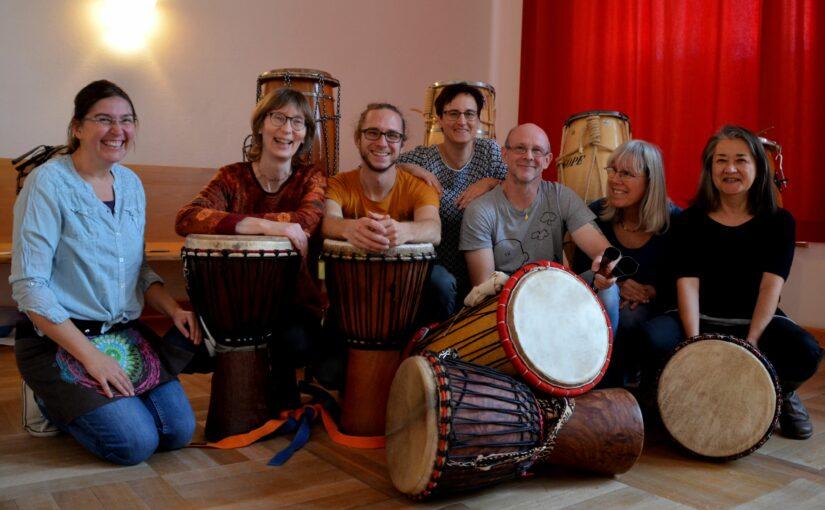 Termin für das Trance.Tanz.Konzert mit dem Live Percussion Ensemble Axé steht fest